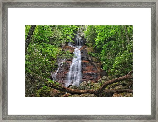 Dill Falls Framed Print