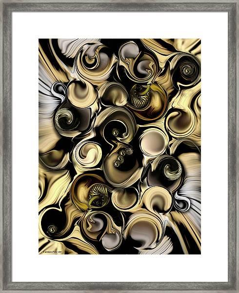 Dimension Vs Shape Framed Print