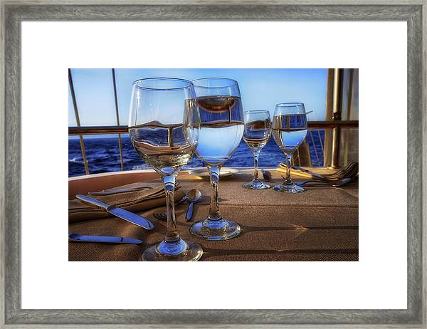 Dinner Ahoy Framed Print