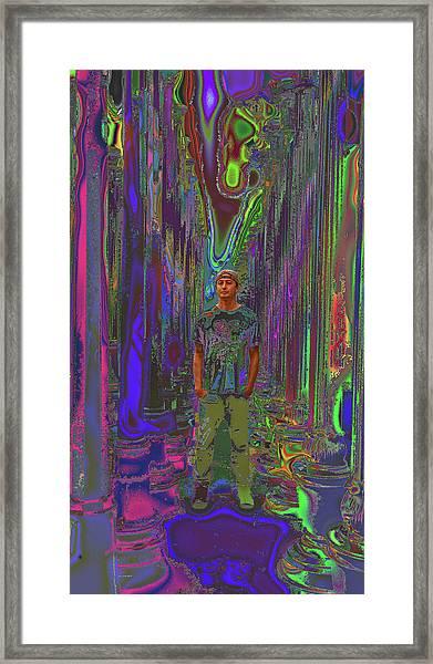 Director - Ramon Garcia Framed Print