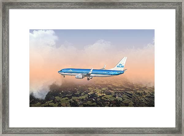 Dirty 737ng 28.8x18 Framed Print