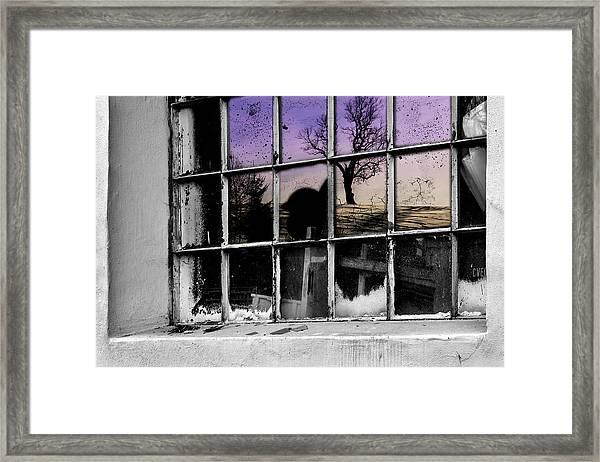 Dirty, Broken But Beautiful Framed Print