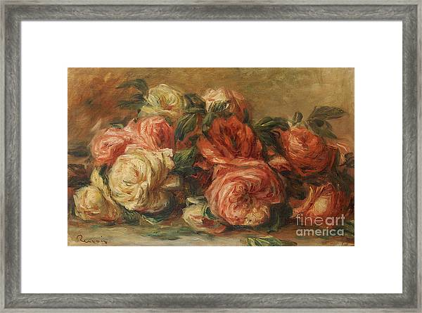 Discarded Roses  Framed Print