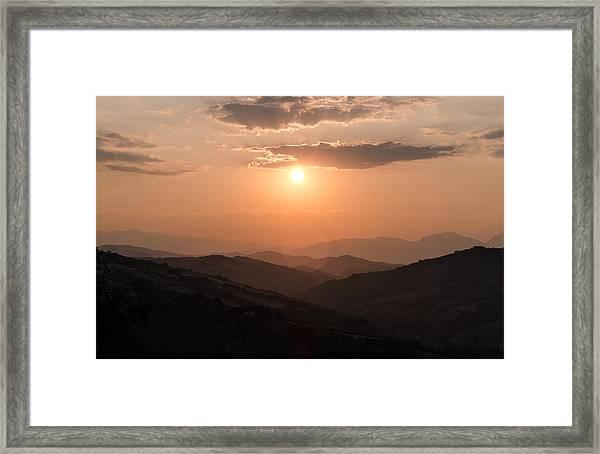Disciples Of The Sun Framed Print