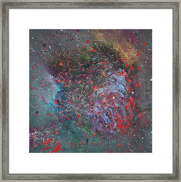 Framed Print featuring the painting Discovery by Michael Lucarelli
