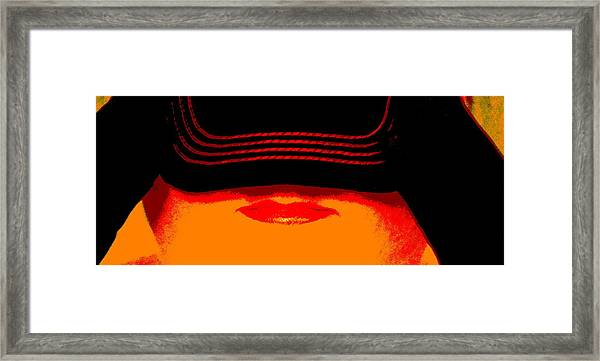 Discretion Framed Print