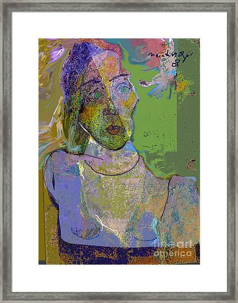 Dismay Framed Print by Noredin Morgan
