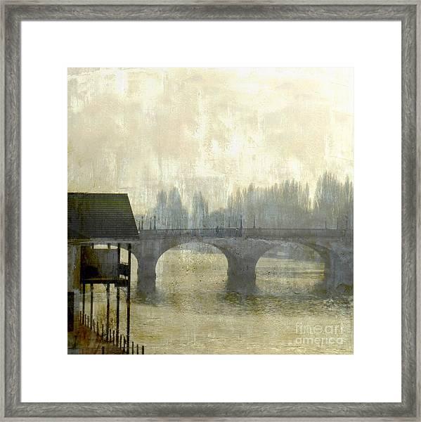 Dissolving Mist Framed Print