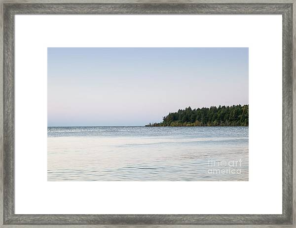 Distant Land Framed Print