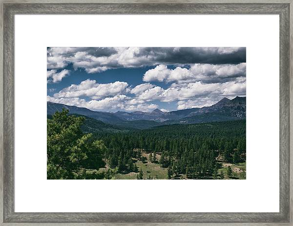 Distant Windows Framed Print