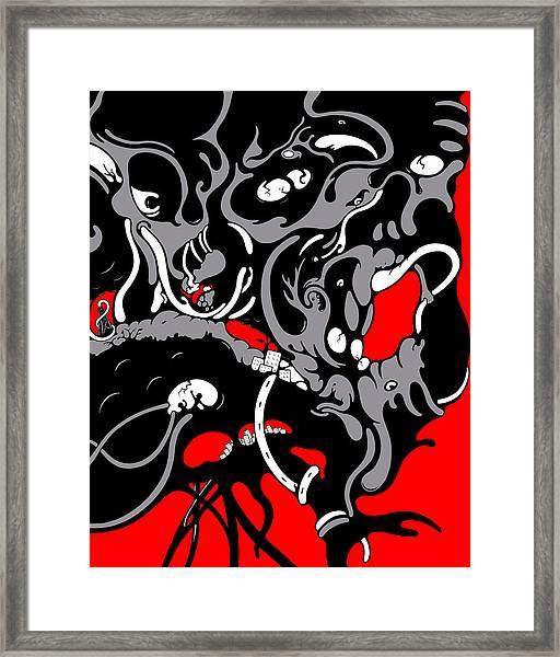 Diversion Framed Print