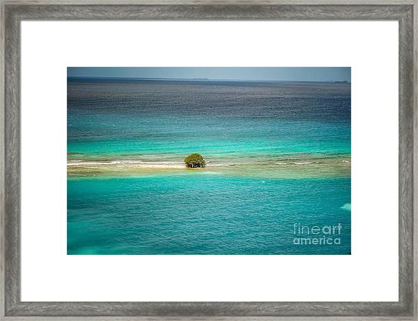 Aruba Framed Print