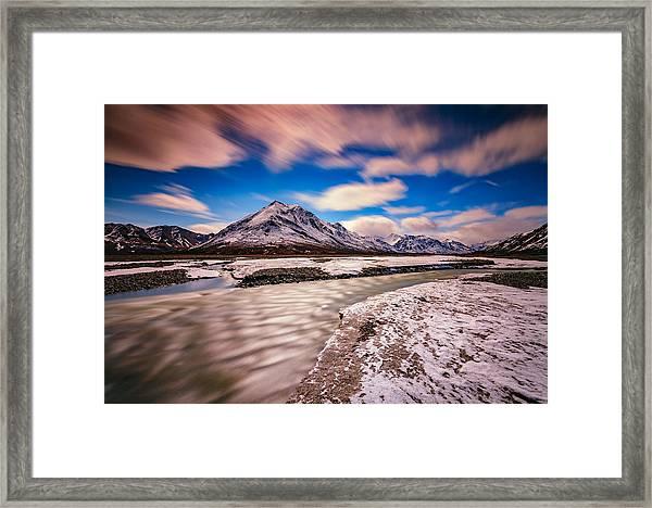 Divide Mountain Framed Print