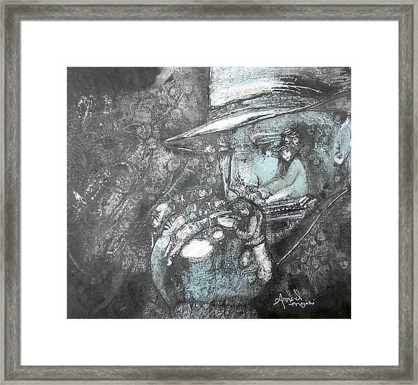 Divine Blues Framed Print