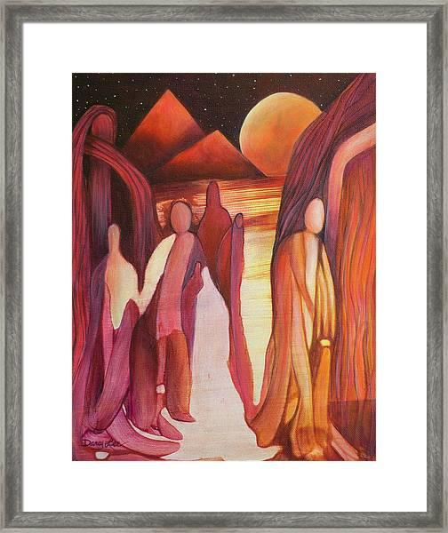 Divine Design Framed Print