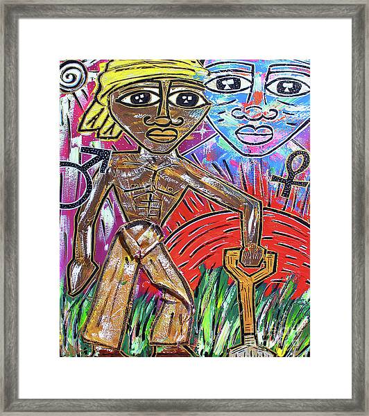 Divine Unions Framed Print