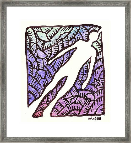 Diving On Guam 2009 Framed Print