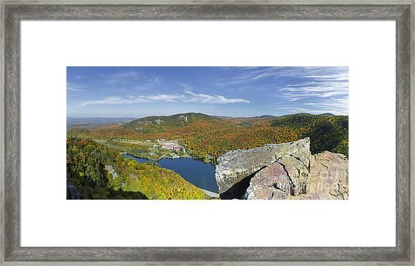 Dixville Notch State Park - Dixville Notch New Hampshire  Framed Print