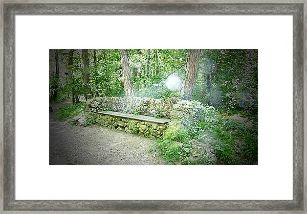 Do You Want To Take A Rest Framed Print