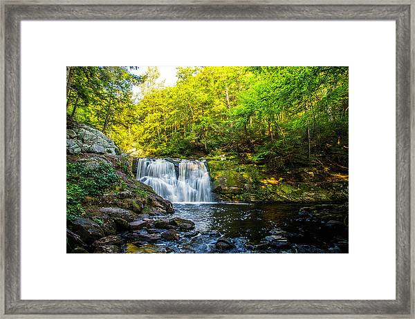 Doans Falls Lower Falls Framed Print