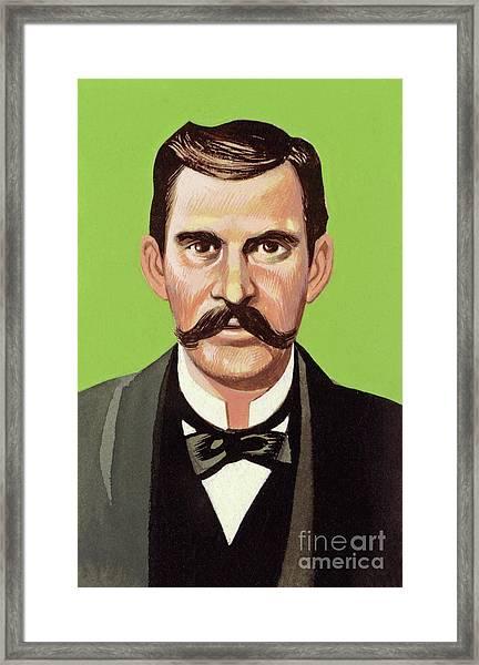 Doc Holliday Framed Print