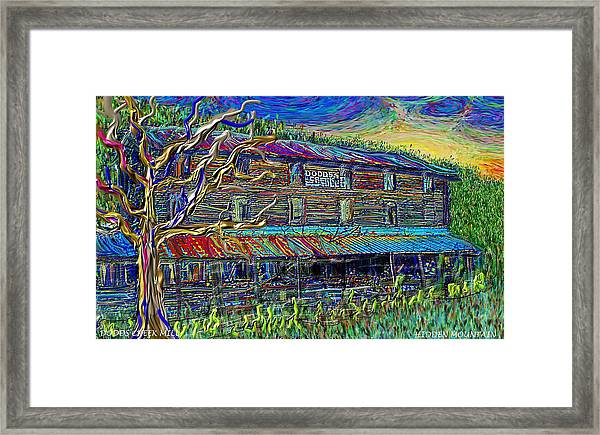 Dodds Creek Mill, ,floyd Virginia Framed Print