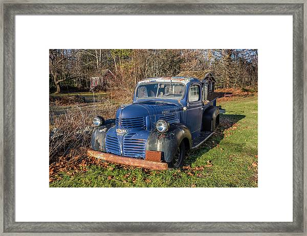 Dodge Pickup Framed Print