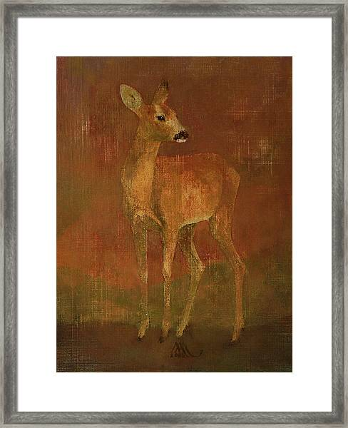 Doe Framed Print