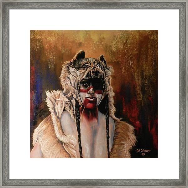 Dogman  Framed Print