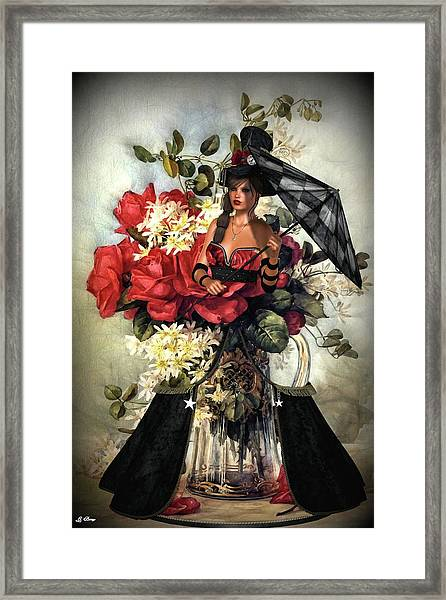 Doll Flower Pitcher Framed Print