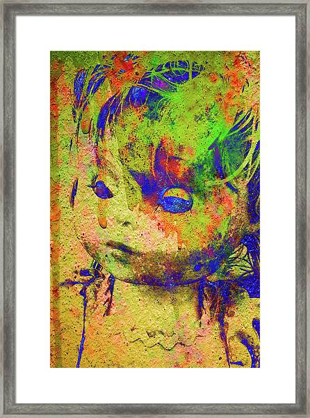 Doll Q1 Framed Print