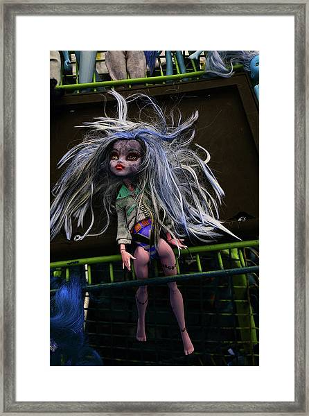 Doll X2 Framed Print