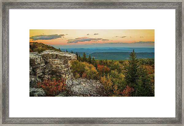 Dolly Sods Autumn Sundown Framed Print