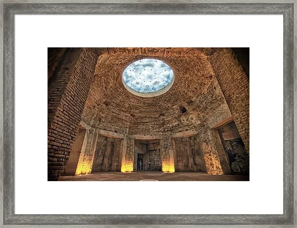 Domus Aurea Rotunda Framed Print