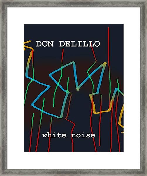 Don Delillo Poster  Framed Print