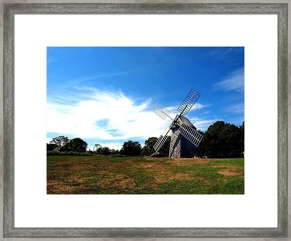 Don Quiotes Dragon  Framed Print