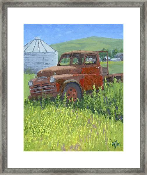 Done Dodge Framed Print