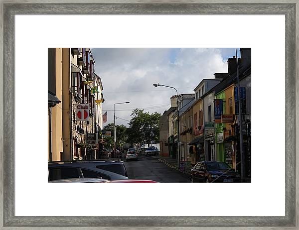 Donegal Town 4118 Framed Print