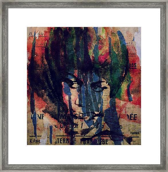 Don't Play That Song  Framed Print