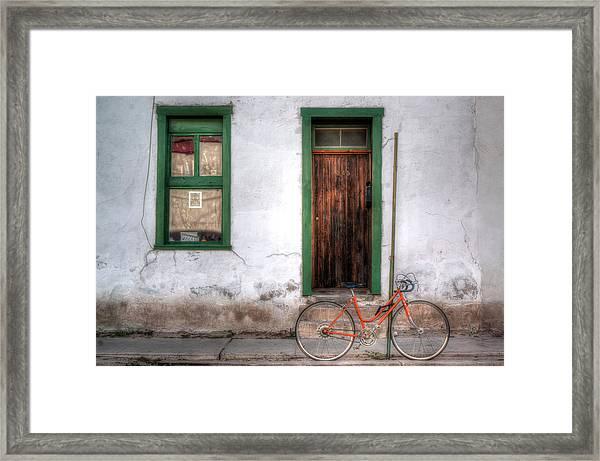 Door 345 Framed Print