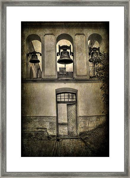 Door Bells Framed Print