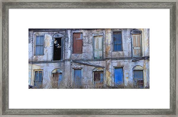Old Building In Jerome, Arizona Framed Print