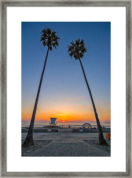 Dos Palms Framed Print