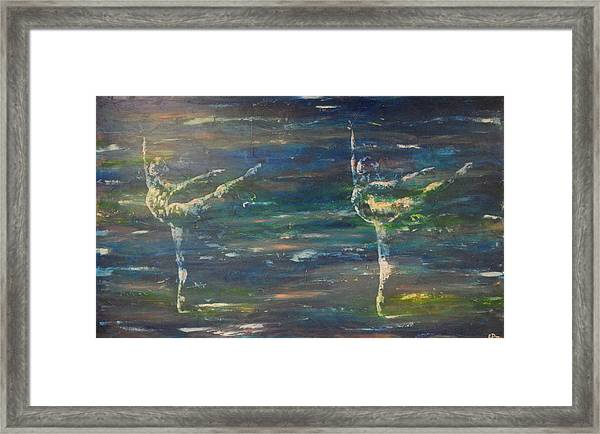 Double Arabesque Framed Print