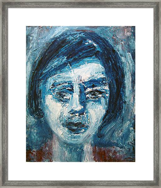 Doubt Framed Print by Jenni Walford