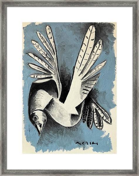 Dove  Framed Print by Mark M Mellon