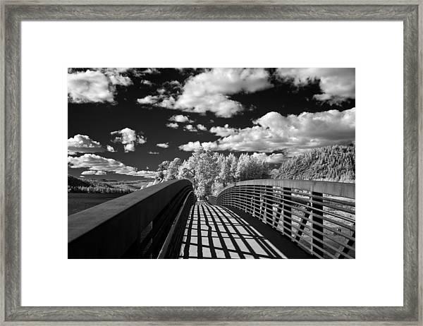 Dover Slough Bridge 1 Framed Print