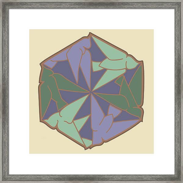 Doves Logo Color Framed Print