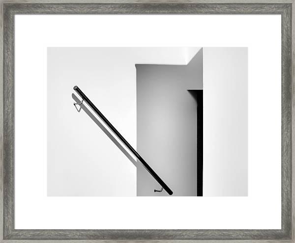 Down In The Dark Framed Print