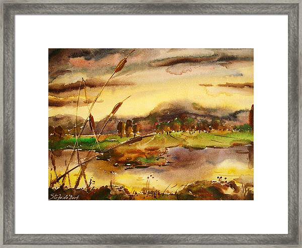 Down The River Framed Print